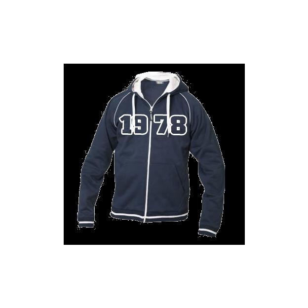 Jahrgangs-Jacke für Frauen marine, Grösse L
