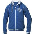 Jacke mit Initialen Herren blau, Grösse XL