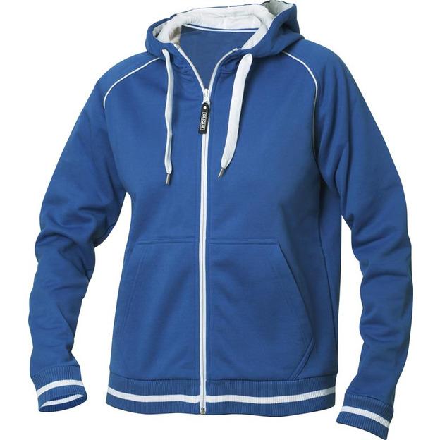 Veste à vos initiales femme bleu, Taille L