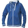 Jacke mit Initialen Frauen blau, Grösse L