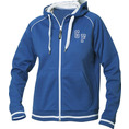 Jacke mit Initialen Frauen blau, Grösse XL