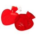 Personalisierbare Herz Bettflasche