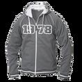 Jahrgangs-Jacke für Herren grau, Grösse XL