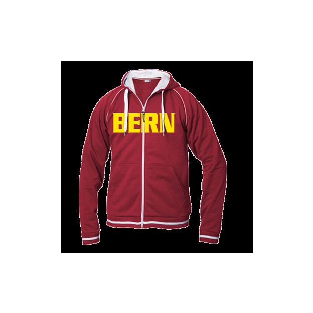 City-Jacke für Herren rot, Gr. XL