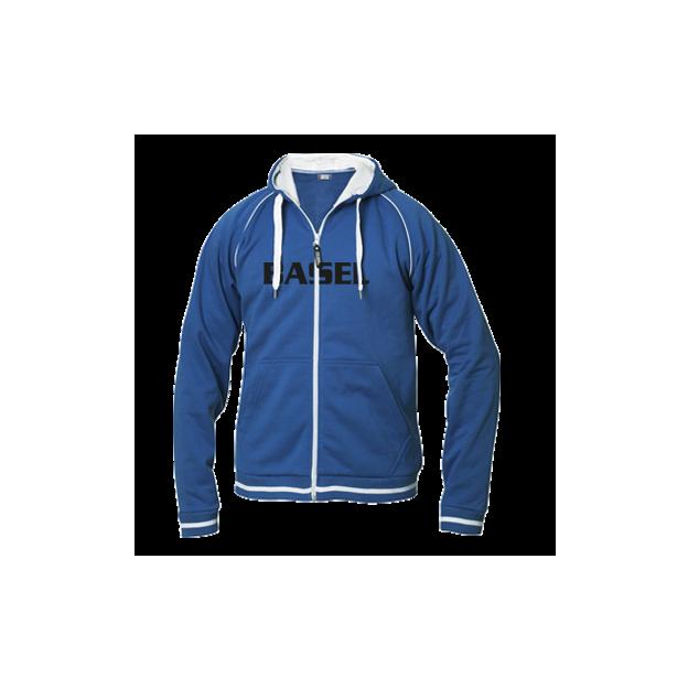 City Veste personnalisable bleue homme, Taille XL