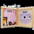 Personalisierbare Jahrgangs Musik-CD 1980