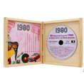 Personalisierbare Jahrgangs Musik-CD 1990