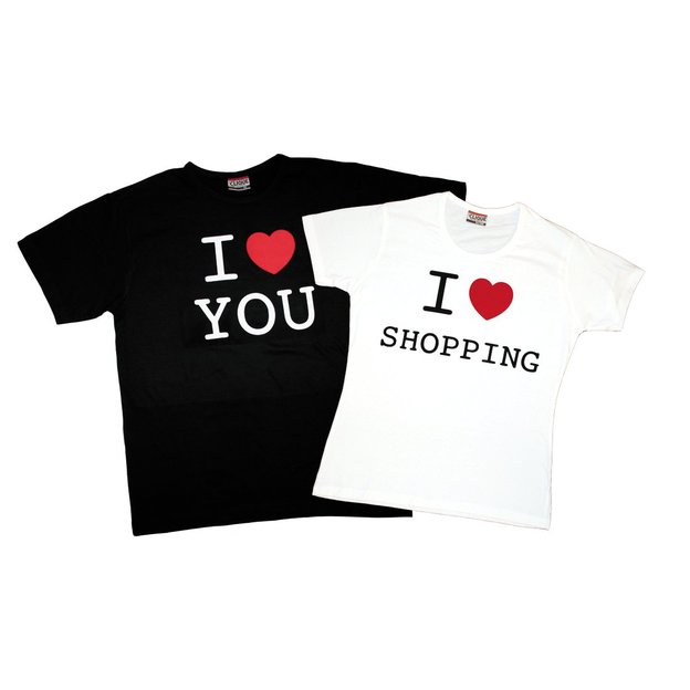 Personalisierbares I Love T-Shirt
