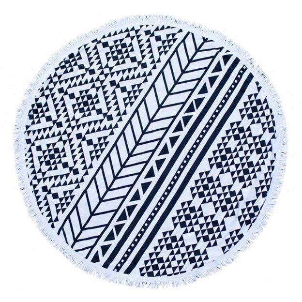 Strandtuch Black Maze