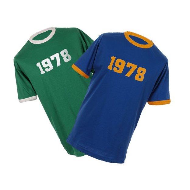 Personalisierbares Jahrgangs-Shirt