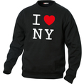 Pullover personnalisable I Love Noir, Taille S