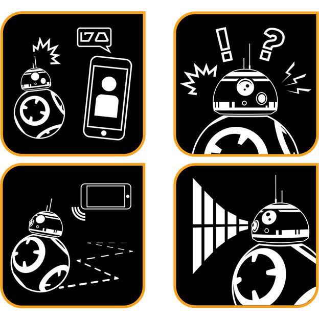 Sphero Star Wars BB-8 robot pour smartphone