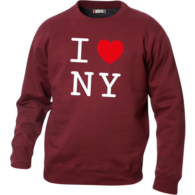 Pullover personnalisable I Love Bordeaux, Taille L