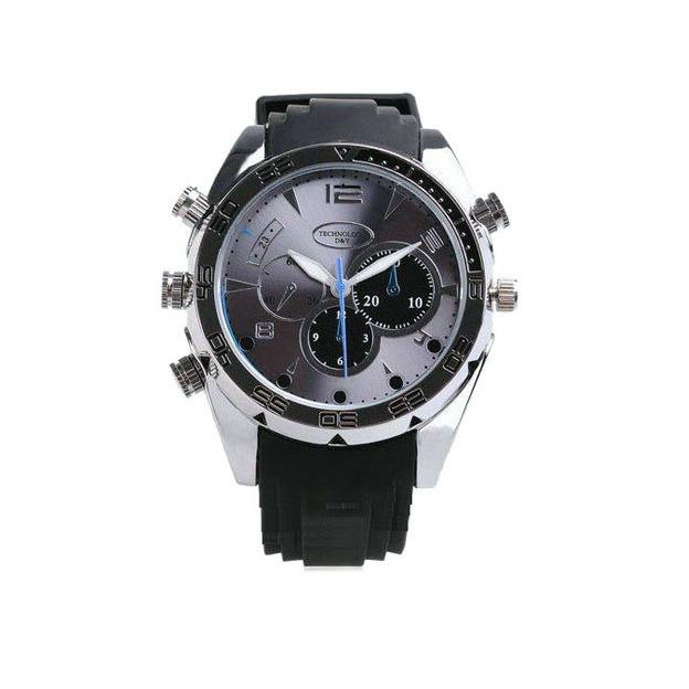 T-Master- Uhr mit HD 1080P - inkl. versteckter Spionage Kamera