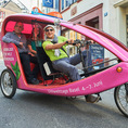 Individuelle Velotaxi-Tour durch Basel