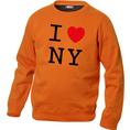 Pullover personnalisable I Love orange, Taille  L