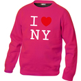 Pullover personnalisable I Love pink, Taille M