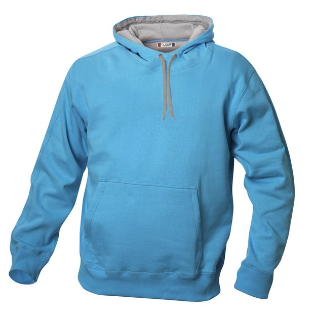 City-Hoodie sweat personnalisable bleu clair, Taille XL