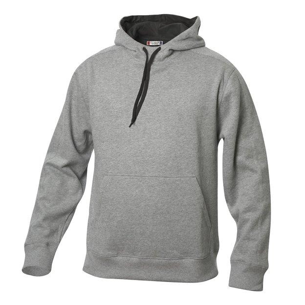 City-Hoodie sweat personnalisable gris foncé, Taille XXL
