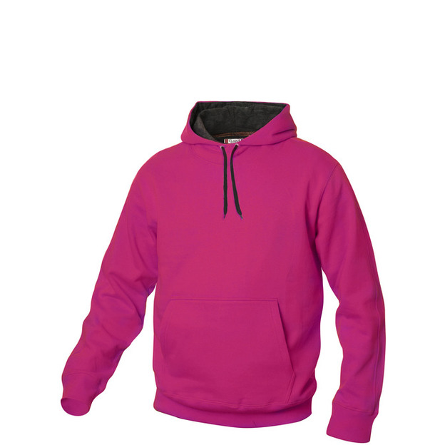 City-Hoodie sweat personnalisable pink, Taille L