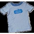 Baby Shirt Habe ich mich undeutlich genug… blau 6-12 Monate