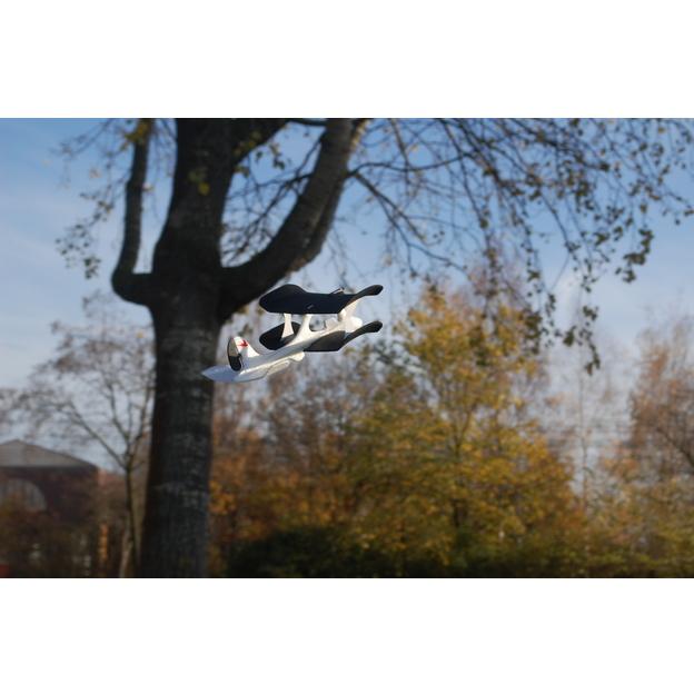 Ferngesteuertes iPhone-Miniaturflugzeug