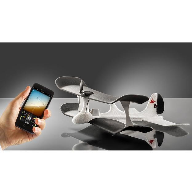 Avion miniature télécommandé via Smartphone