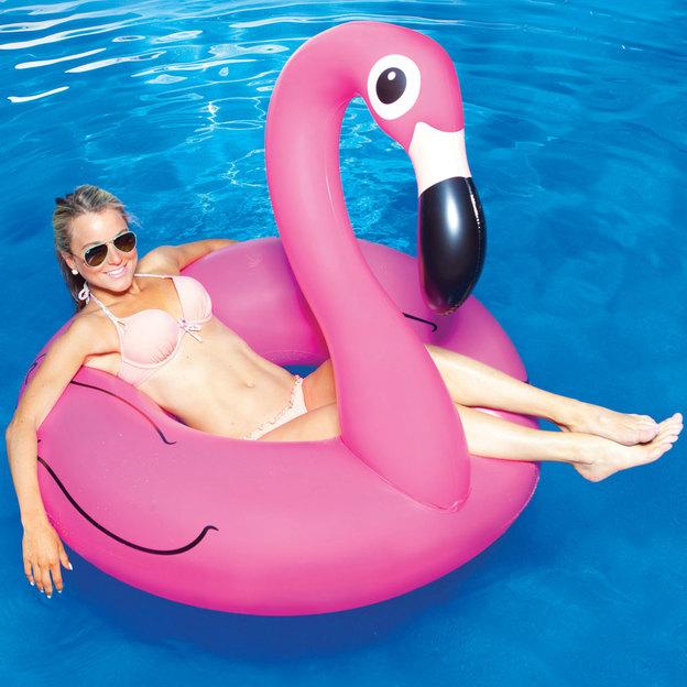 Aufblasbarer Flamingo Schwimmreifen