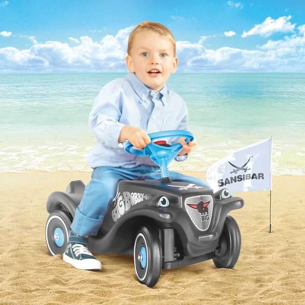 BIG-Bobby-Car-Classic und BIG-New-Bobby-Car inkl. Zubehör