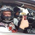 BMW M3 fahren auf internationalen Rennstrecken