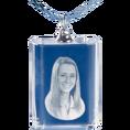 Personalisierbare Halskette aus Glas