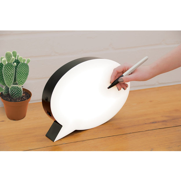 lampe led bd speech bubble. Black Bedroom Furniture Sets. Home Design Ideas
