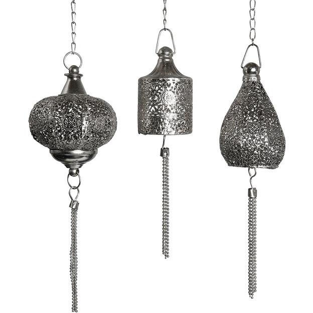 Set de 3 Lanternes orientales Aida