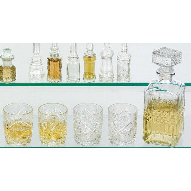 Set avec 1 carafe à décanter et 4 verres à whisky