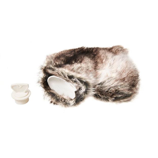 Bouillote Chamonix à fourrure artificielle