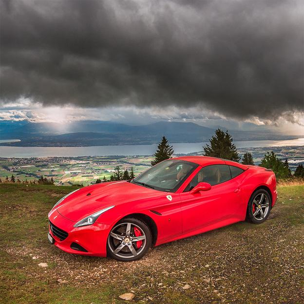 Ferrari California T für 12 Stunden mieten