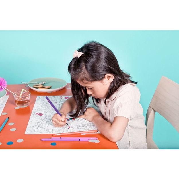 Sets de table à colorier Omy