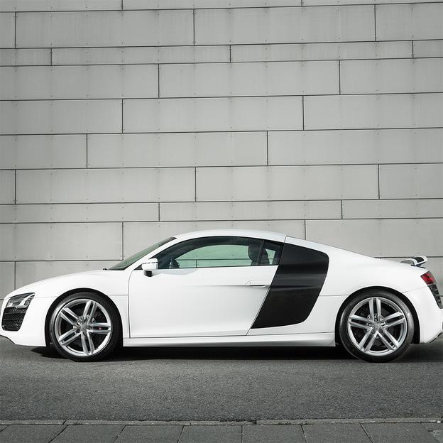 Audi R8 V10 525 PS für 6 Stunden mieten