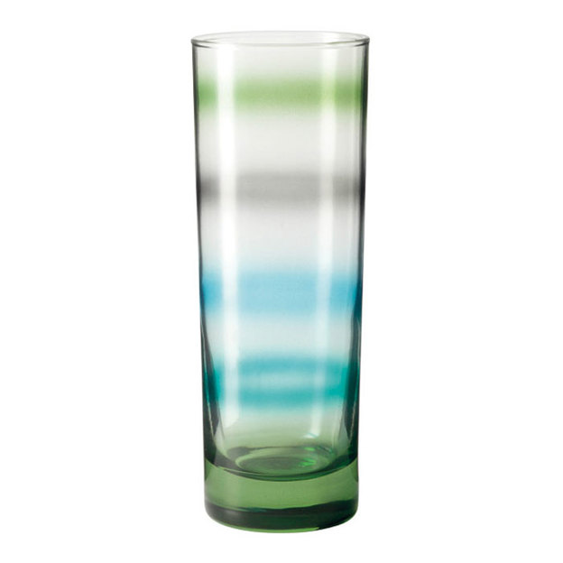 Set 6 verres Leonardo Verde Rainbow