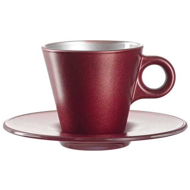 Tasse Espresso Ooh! Magico rouge