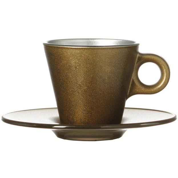 Tasse Espresso Ooh! Magico dorée