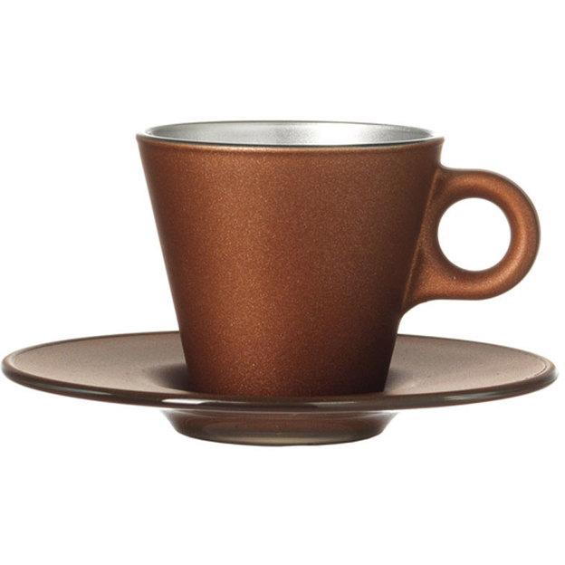 Tasse Espresso Ooh! Magico brune