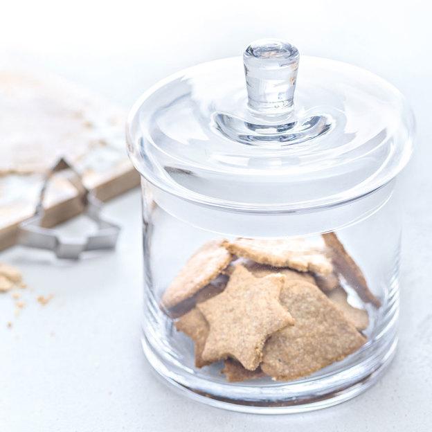 Bocal à biscuits & trois emporte-pièces