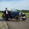 Ford A Cabrio Vintage 1929 avec chauffeur