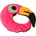Coussin chauffant flamant rose