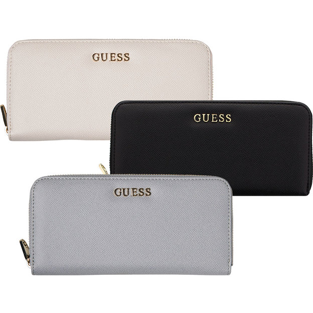 Guess Portemonnaie Isabeau Large Zip Around