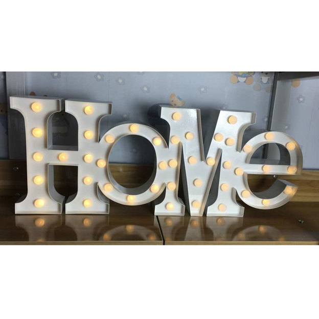 LED Leuchtsymbol HOME Vegas Lights