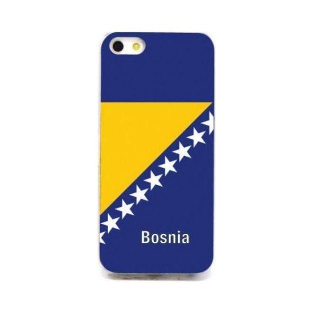 LED Länder iPhone 5/5S Schutzhülle Bosnien