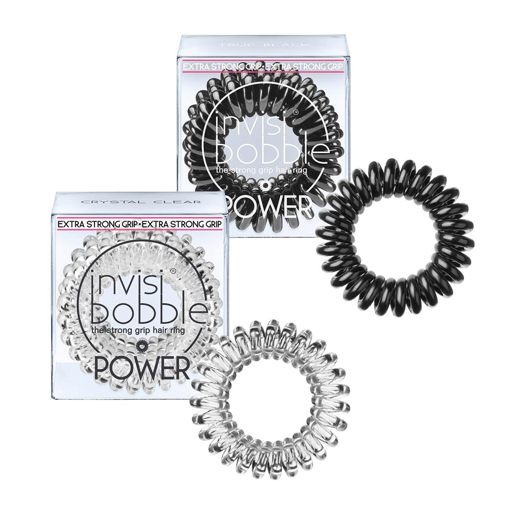 Élastique pour cheveux Invisibobble Power set de 3