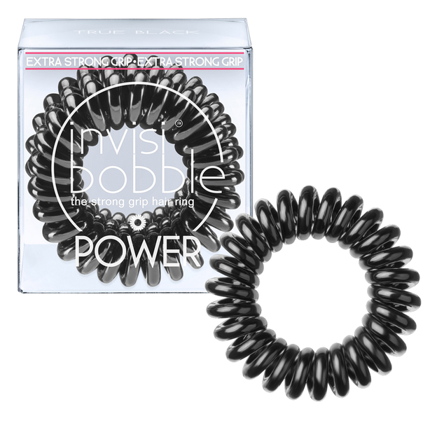 Élastique pour cheveux Invisibobble Power True Black